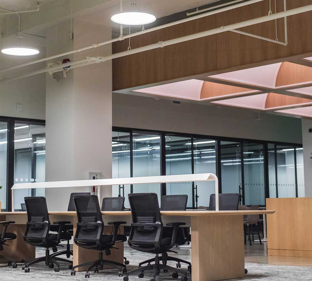 Office Furniture installations